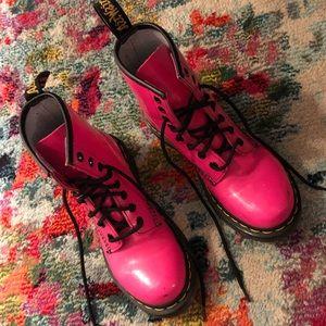Original Doc Martens, Hit Pink, Ladies 5